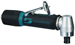 Dynabrade 0 4 Hp Right Angle Air Die Grinder 15 000 Rpm Extended Exhaust