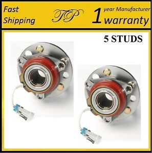 Front Wheel Hub Bearing Assembly For 1992 1999 Oldsmobile 88 4 Wheel Abs Pair