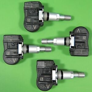 Set Of 4 Tire Pressure Sensor Tpms Oem 40700 3an0a For Nissan Maxima Frontier