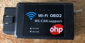 Ohp Wifi Elm327 Forscan Obd2 Adapter With Hs can Ms Can Switch