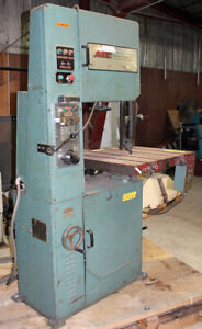 Msc 20 Vertical Metal Cutting Band Saw