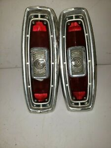 1966 Ford Ranchero Tail Light Assembly Pair