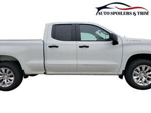 Painted Body Side Moldings Made For The Silverado Double Cab 2019 2020 Trap