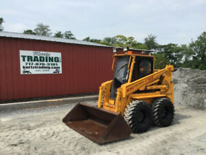 1994 Hydra mac 1700d Skid Steer Loader W Cab Only 900 Hours Coming Soon