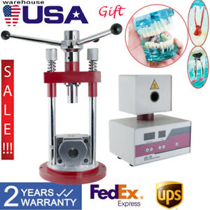 Dental Lab Manual Flexible Invisible Denture Injection Tool Machine Teeth Model