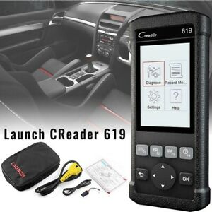 Launch Creader 619 Obd2 Can Srs Abs Airbag Auto Diagnostic Scanner Code Reader