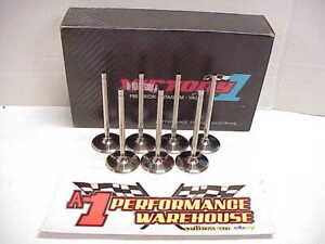 7 New Victory 5 16 Titanium Intake Valves 5 020 2 05 Manley Del West Sb Chevy