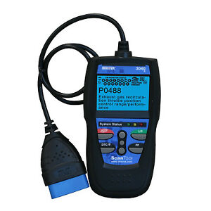 Innova 3040 Diagnostic Obd2 Vehicle Scan Tool Code Reader With Live Data