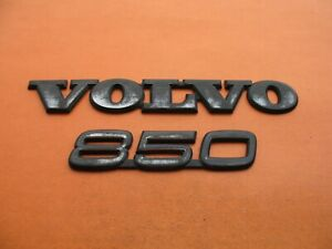 93 94 95 96 97 Volvo 850 Rear Trunk Lid Emblem Logo Badge Sign Symbol Oem Set 8