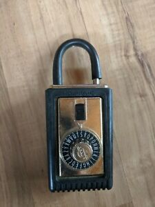Vintage Supra c Realtor Combination Lock With Combination