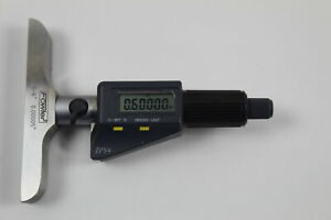 Ip54 Absolute Electronic Depth Micrometer 54 225 456 0 6