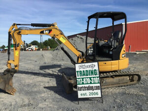 2016 Caterpillar 303ecr Hydraulic Mini Excavator Only 500 Hours Coming Soon