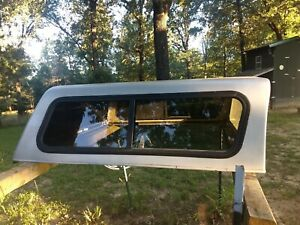 Camper Shell For 2009 Toyotatacoma 4 Door Crew Cab