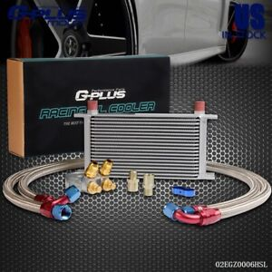 Gplus 19 Row 10an Thermostat Adaptor Engine Oil Cooler Filter Thermostat Kit