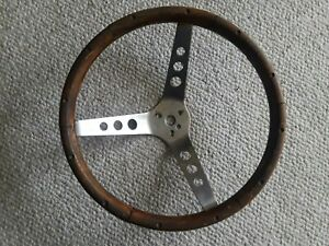 Vintage Grant Wood Metal Steering Wheel 13 5 13 1 2
