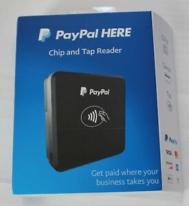 Paypal Chip And Tap Credit Card Reader Pctusdcrt Brand New Factory Sealed
