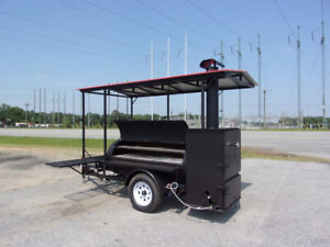 2019 Bubba Grill 250r 5x10 Concession Vending Bbq Trailer With Roof rib Box New