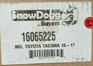 16065225 Buyers Snowdogg Mounting Kit For 2016 2017 Toyota Tacoma Md Vmd