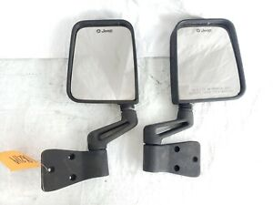 Jeep Wrangler 76 06 Cj Yj Tj Full Half Door Side Mirrors Mirror Pair Factory