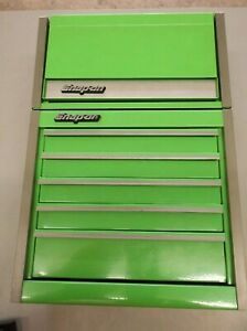 Snap On Green Mini Toolbox Top And Bottom Chest Over All Length 12 3 8 X 8 1