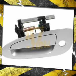 For 2003 Nissan Altima Outside Door Handle Front Left Driver Side Silver Ky1