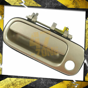 For 1994 Toyota Camry Outside Door Handle Front Left Driver Side Beige 4m9