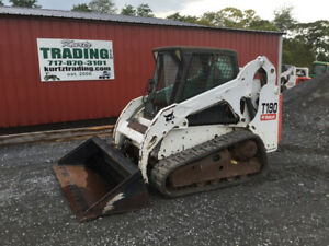 2013 Bobcat T190 Compact Track Skid Steer Loader W Cab Coming Soon