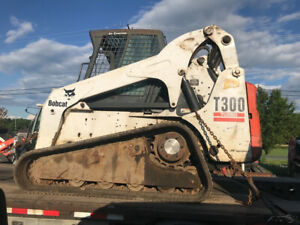 2005 Bobcat T300 Compact Track Skid Steer Loader W Cab 2600hrs Coming Soon