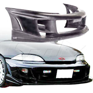 Urethane Bomb Style 1pc Front Bumper Fits Chevrolet Cavalier 95 99 Kbd