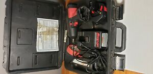 Snap On 1 2 Impact Wrench Cordless Ct3450 Flash Light Charger Battery 14 4v