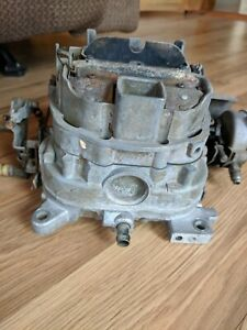 1970 S Ford Motorcraft 4 Barrel Carburetor D6ta Na B 6d 29