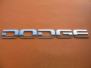 02 03 04 05 06 07 08 Dodge Ram 1500 2500 3500 Rear Emblem Logo Badge Sign Oem 1