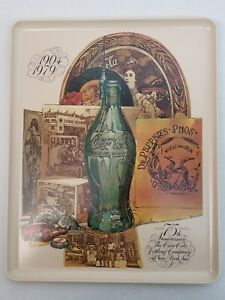 NEW TRAY 1979 COCA COLA BOTTLING COMPANY OF NEW YORK 75TH ANNIVERSARY 1904-1979