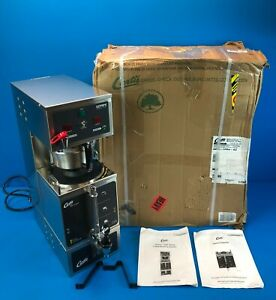Wilbur Curtis Gemini Single 1 0 Gal Analog Coffee Brewer System Gem 120a 63