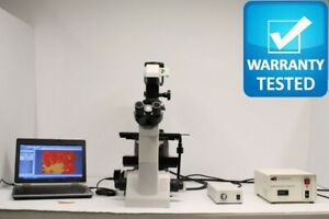 Nikon Te200 Fluorescence Phase Contrast Inverted Microscope