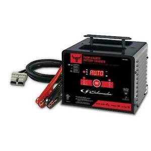 Heavy Duty 6 Volt 12v Easy Carry 200 Amp Automatic Car Battery Charge Jump Start