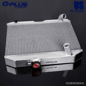 3 Row Aluminum Racing Radiator For 41 52 Jeep Willys Mb cj 2a M38 Ford Gpw D5