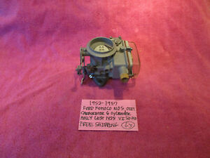 1952 1957 Ford Nos Holly Carburetor List 1425 Visi flo 6 Cylinder Free Shipping