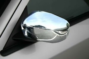 2005 2008 Chrysler 300 Magnum Charger Chrome Abs Mirror Covers Left Right