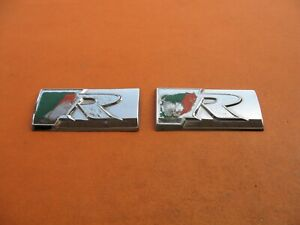 Jaguar S Type X Type Xk Xj Xj8 Xk8 R Emblem Logo Badge Sign Symbol Used Oem Set