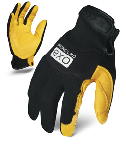 Ironclad Gloves Exo2 mplc Motor Pro Gold Cowhide Leather Select Size