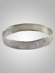 Ancient Viking Wedding Ban Ring C 866 1067a D Size 10 20 2mm Brr1059