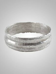 Ancient Viking Wedding Ring Band C 866 1067a D Size 5 15 8mm Brr1035