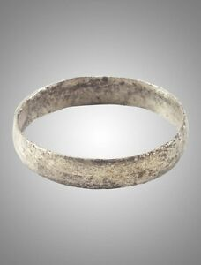 Ancient Viking Wedding Ring Band C 866 1067a D Size 7 1 2 18 1mm Brr1158