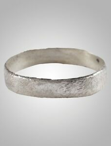 Ancient Viking Wedding Band Ring C 866 1067a D Size 10 1 4 19 4mm Brr1051