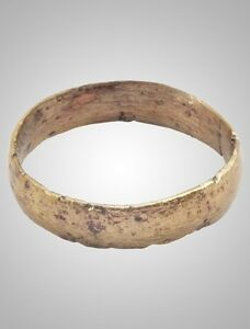 Authentic Ancient Viking Wedding Ring C 866 1067a D Size 11 3 4 20 9mm