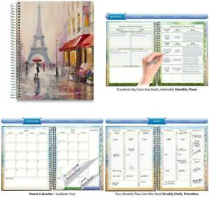 Tools4wisdom June 2019 2020 Planner Daily Weekly Monthly Academic Planner Cale