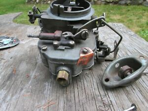 Carter 2168 Mopar Carburetor 2bbl Used Needs Rebuild