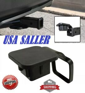 Universal 2 Car Truck Trailer Hitch Receiver Cover Plug Cap Dust Protector Us