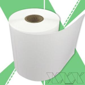 10 Rolls 4x6 Direct Thermal Labels Rollo Compatible Perforated 250 rl